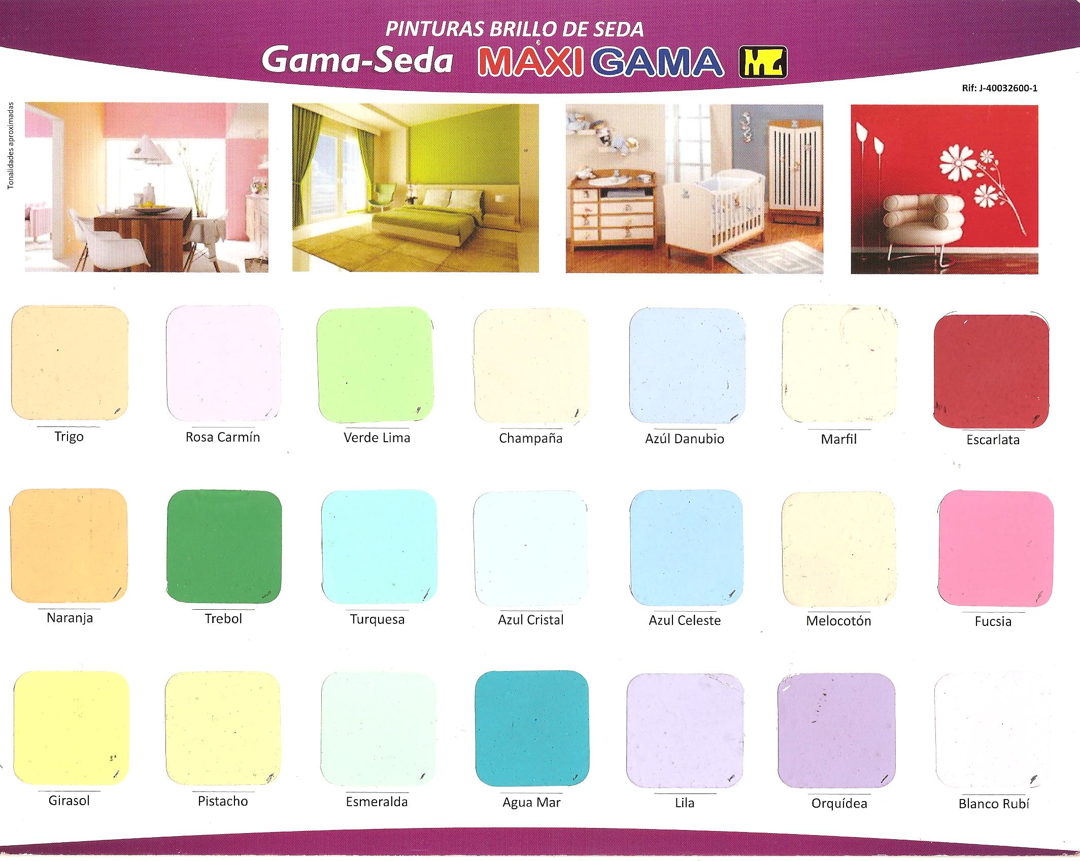 Gama De Colores De Pintura Colores En Pintura Affordable With Colores En Pintura Good