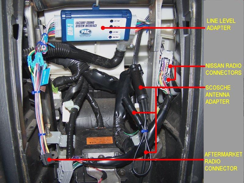 How do i install a line output converter?? 02 GLE w/Bose - Maxima Forums