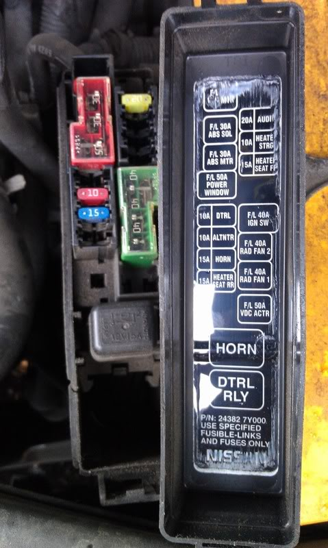 2006 Nissan Maxima Fuse Box - Wiring Data schematic