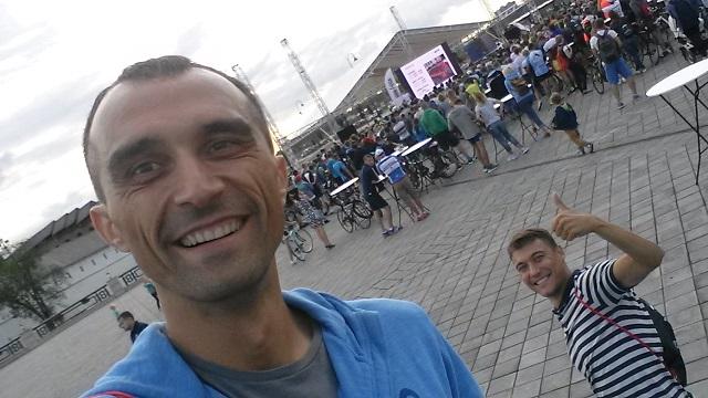 Максим Бувалин и Сергей Маямсин. Брифинг #Ironstr Kazan2016, 26 августа.