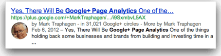 google-page-analytics-result