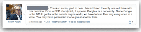 google-plus-seo-answer