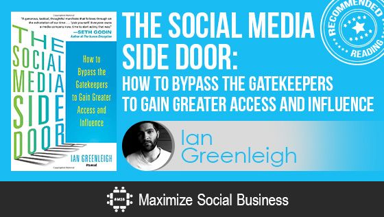 The Social Media Side Door by Ian Greenleigh - Recommended Social Media Book