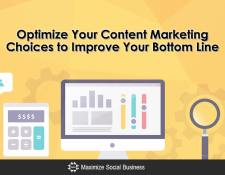 Optimize Your Content Marketing Choices to Improve Your Bottom Line