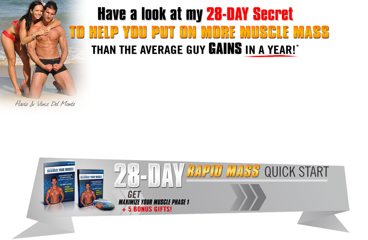 My Dal Login Maximize Your Muscles 28 Days Rapid Mass Quick Start