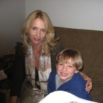 Max with Miss Rosanna Arquette, taken during BALL DON'T LIE shoot