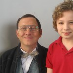"Maxim with Michael Emerson on the set of ""Parenthood"""