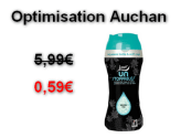 Auchan : Lenor Unstoppables  à 0,59€ au lieu de 5,99€ (Optimisation)