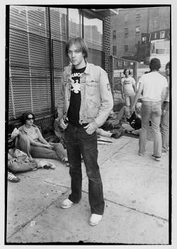 John Holmstrom in 1977 (photo by Godlis)