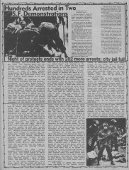 Convention protests from MRR #16 - Aug 1984_5
