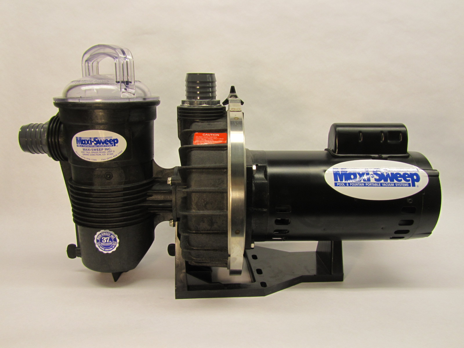 Jacuzzi Pool Vacuum Parts Pump Maxi Sweep Inc