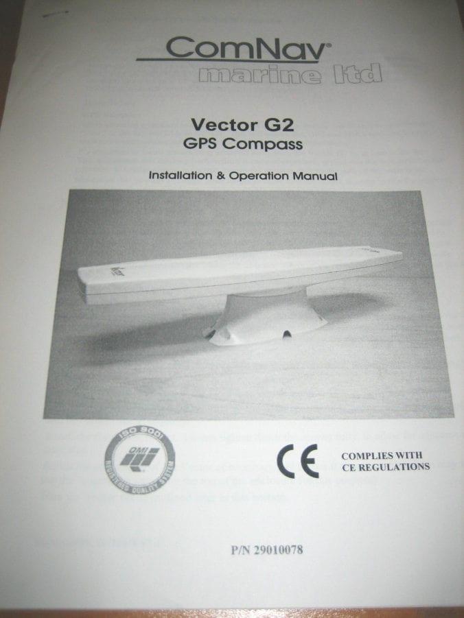 ComNav Marine LTD Vector G2 GPS Compass Installation and Operation - operation manual