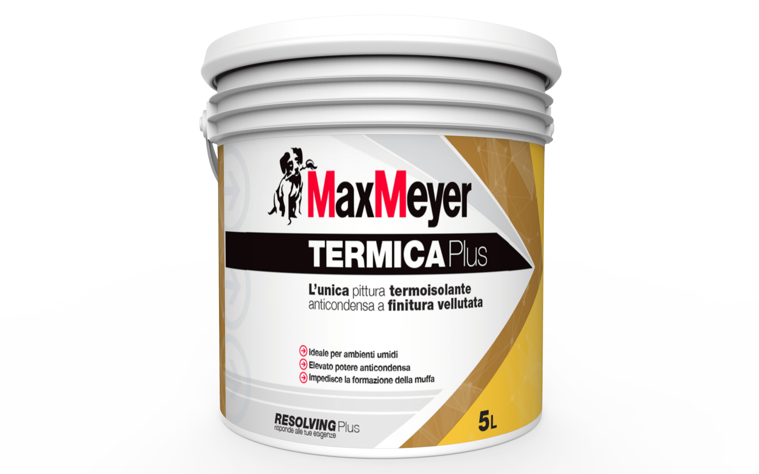 Pittura Lavabile Vellutata Pittura Anticondensa Maxmeyer Per Uso Professionale