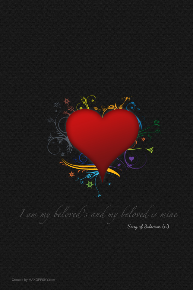 Wallpaper For Iphone Black Valentine S Wallpaper 2012 I Am My Beloved S Maks