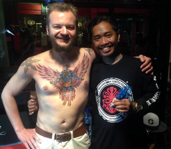 Максон и Хэндро и новая татуировка