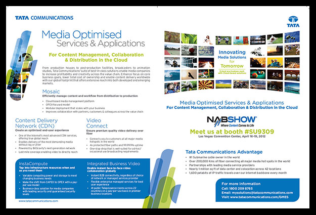 Advertorial for premium telecom journal