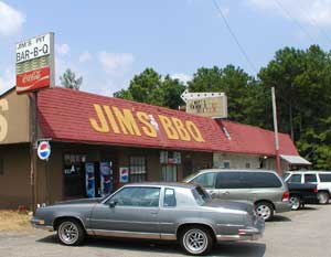 Jim's Pit BBQ on Highway 82