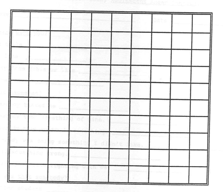 empty table chart - Alannoscrapleftbehind