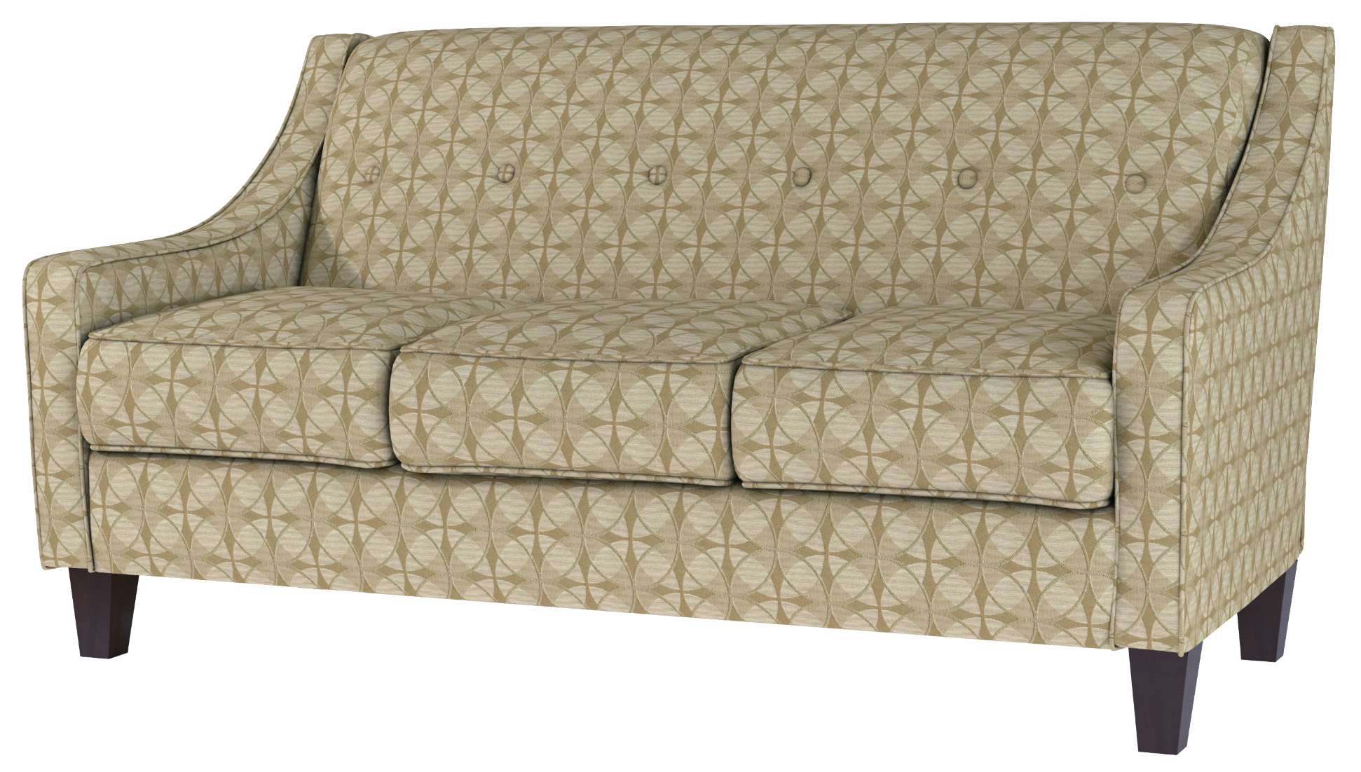 Quotes On Sofa Quick Ship Vidalia Apartment Sized Sofa In Crypton Fabric