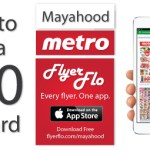 My love for flyers 2.0 – FlyerFlo Review & $50 Metro GC Giveaway (open to all residents of Ontario, CDA)