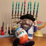 Celebrating Eight Hanukkah Nights with Kinder Surprise