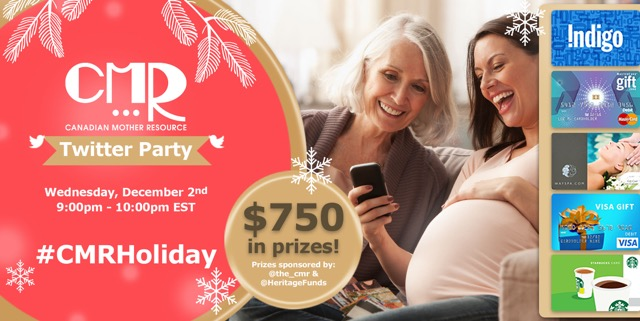 What's better than a holiday party? A CMR Twitter party!