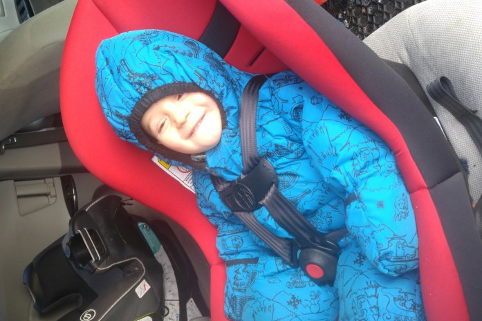 The Affordable and Functional Cosco Car Seat (& A Giveaway)