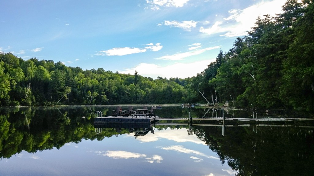 Mornings on the lake