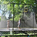 Reclaim your backyard with Springfree Trampoline