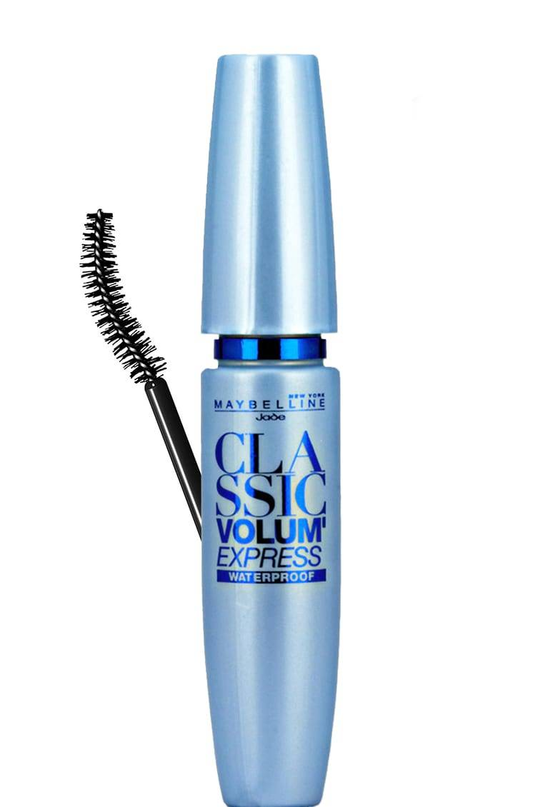 Blaue Wimperntusche Volum Express Mascara Mascara Maybelline