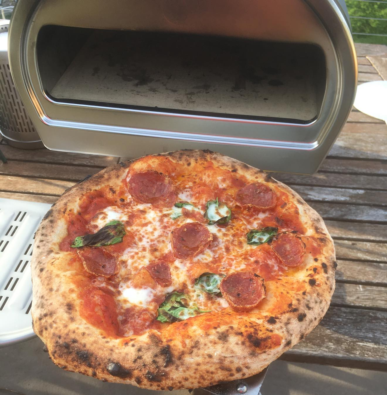 Pizzastand Oven Roccbox