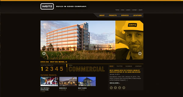 5 Great Website Designs for Commercial Construction and What Makes