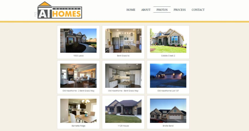 Construction Portfolio Examples What type should your construction