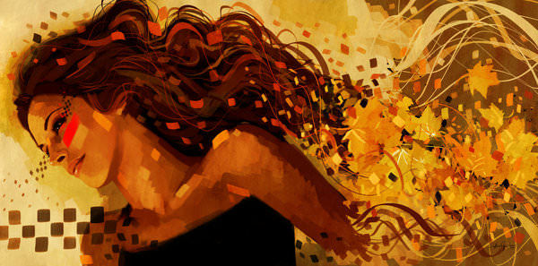 Trance Girl Wallpaper Javier Pacheco S Art Is A Dialect Of Dissipating Design