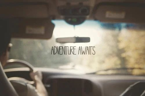 adventure awaits driving car inspirational image quote picture nu life car quote