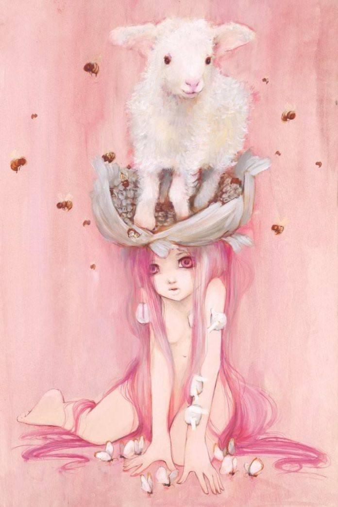 Anime Red Hair Girl Wallpaper Manga Comic Paintings By Camilla D Errico 171 Art