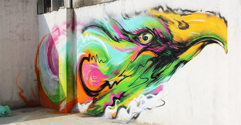 Grafitti wall painting - Download