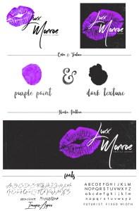 Luxx Monroe Branding