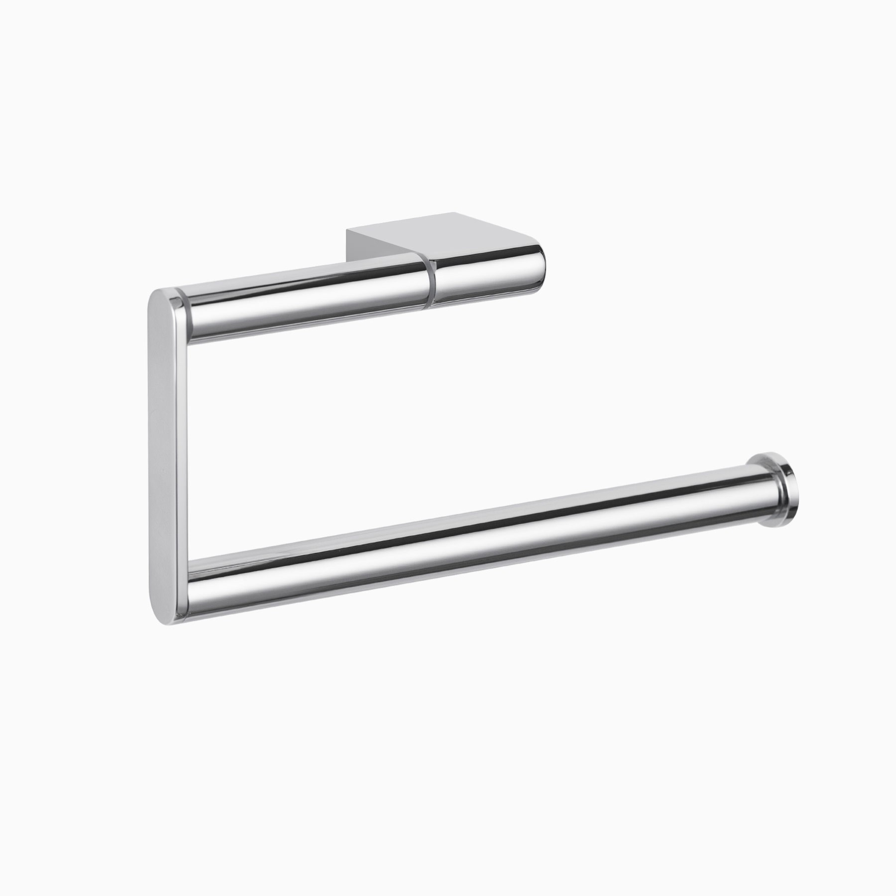 Countertop Towel Ring Mission Towel Ring Polished Chrome