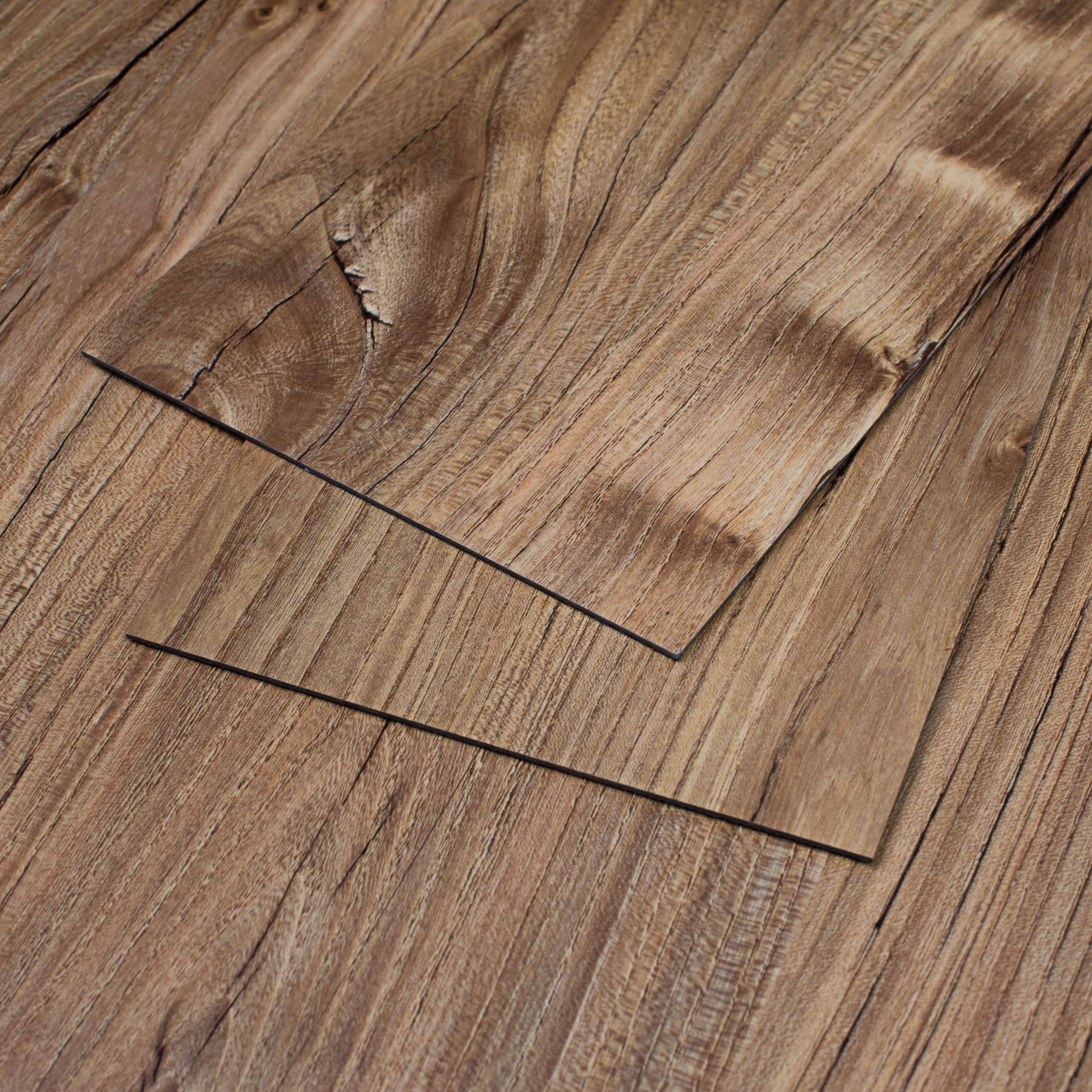 Vinyle Pvc 47 Sq Ft Restored Pine Vinyl Plank Flooring