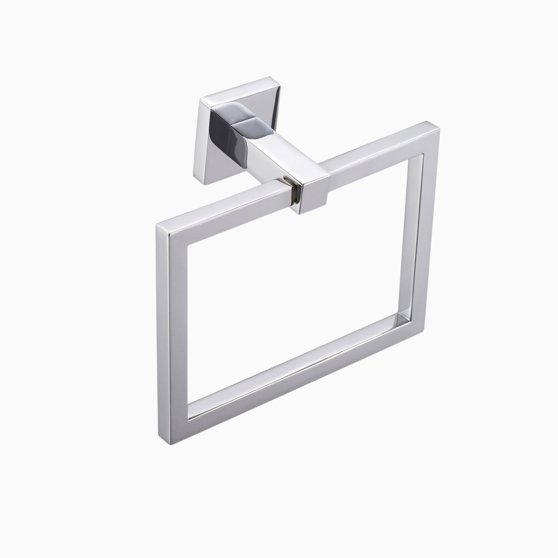 Countertop Towel Ring Mitte Brass Wall Mounted Bathroom Towel Ring Modern