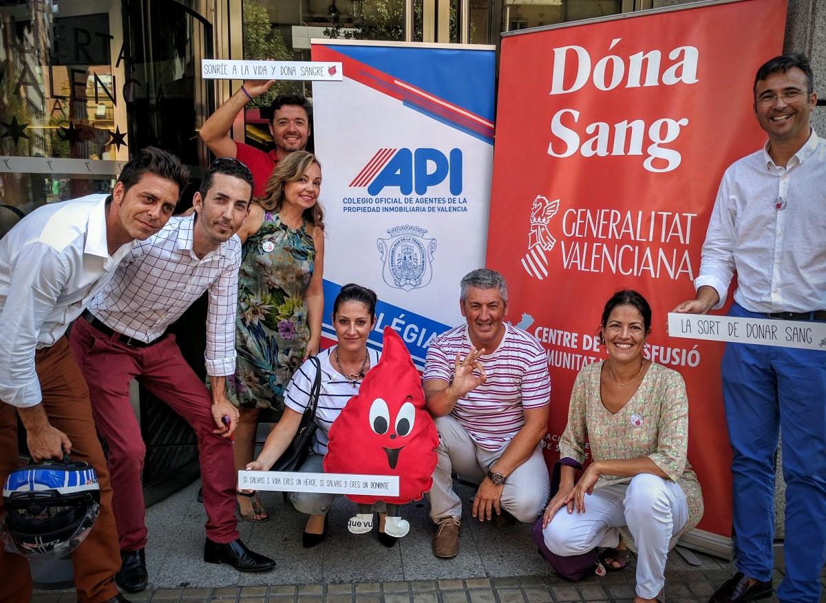 Donación de sangre, inmobiliaria etica.... Valencia