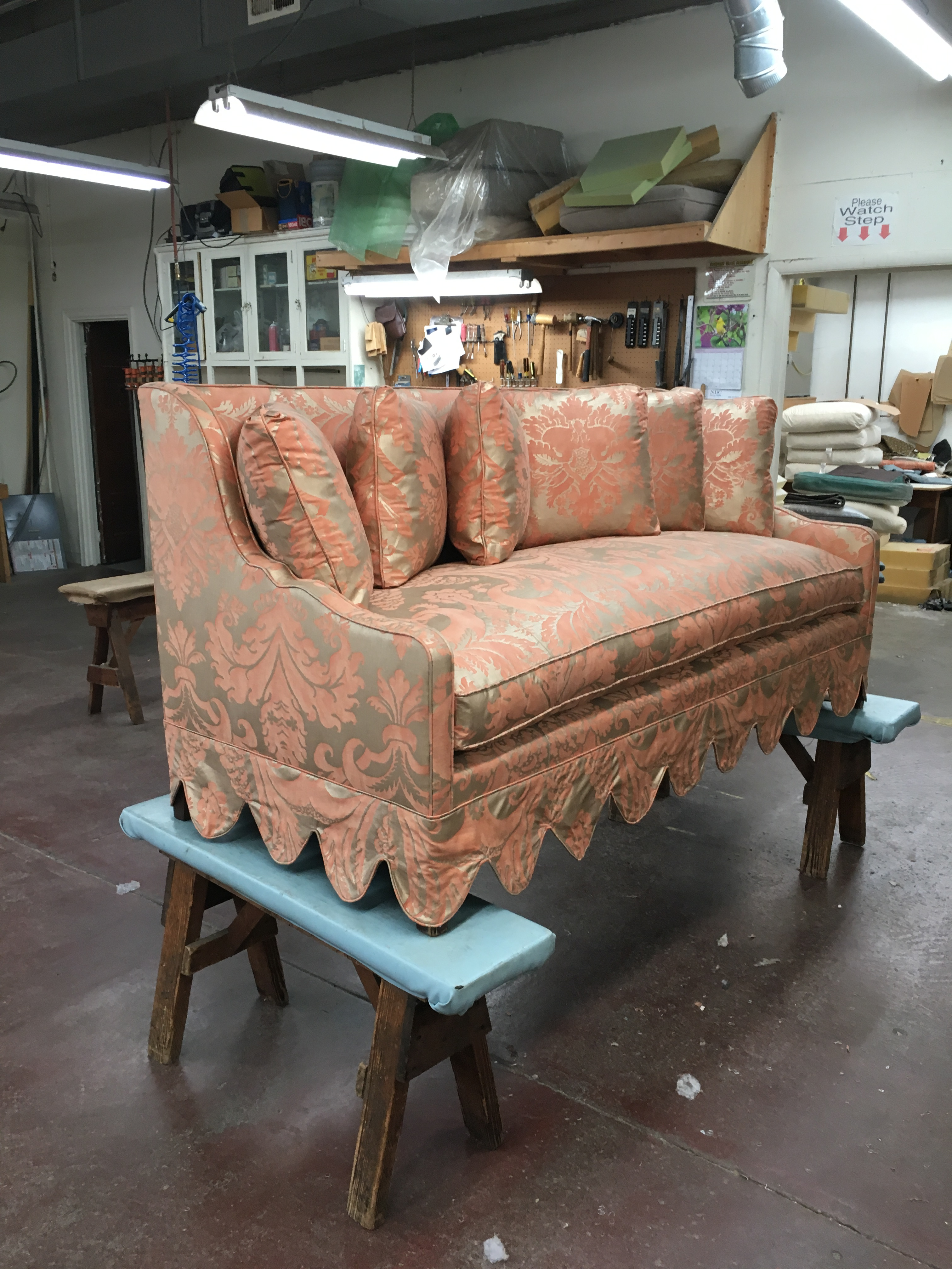Upholstery Shop R A Mayo Industries High Comfort Upholstery