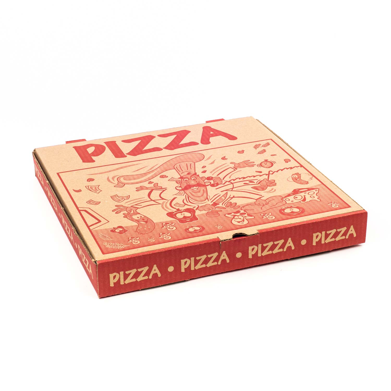 Meubles Atlas Exincourt Printed Corrugated Pizza Box 10 X50