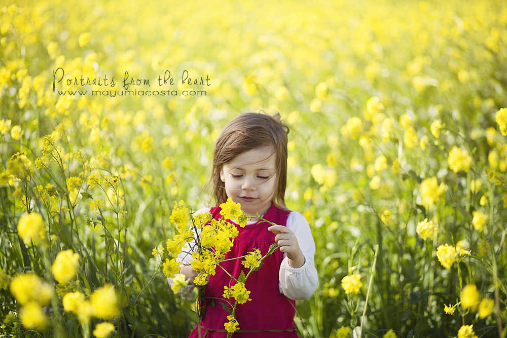 Spring Portrait Session with a princess ~Children Photography