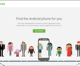 Google which phone help for android