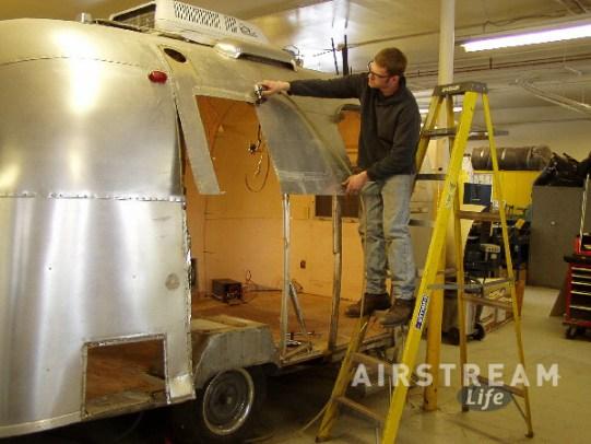 Caravel aluminum replacement