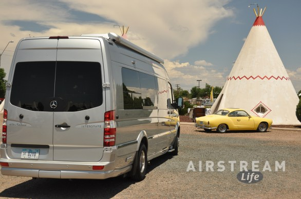 Holbrook AZ wigwam Airstream Interstate