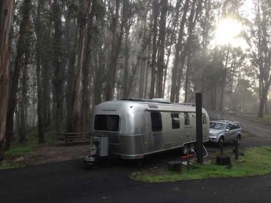 Airstream at Anthony Chabot Regional Park