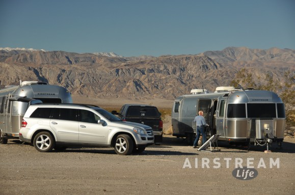 Death Valley Stovepipe Wells Airstreams